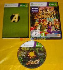 KINECT ADVENTURES Xbox 360 Versione Italiana Adventure 1ª Edizione •••• COMPLETO