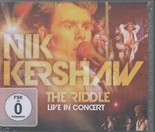 Nik Kershaw The Riddle Live in Concert CD + DVD NEU Cloak & Jagger Shame On You