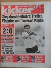 KICKER 51 - 22.6. 1995 Deutschland-Italien 2:0 Vorschau Pokalfinale Tennis