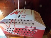 1 Horizon Quail Nest or Baby Chick Shipping Boxes for Live Birds. Fast Ship