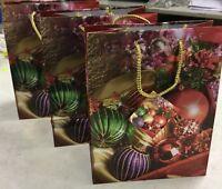 3 Buste buste regalo natalizie christmas bag idea regalo natale 22,5*18 cm New
