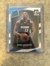 2017-2018 Bam Adebayo Donruss Optic Rated Rookie RC #187