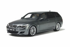 1:18 OTTO MOBILE BMW m5 e61 Touring grigio grey ot189 LIMITED EDITION NUOVO NEW