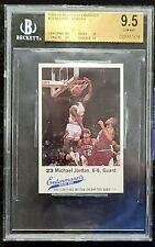 1988-89 Bulls Entenmann's #23 Michael Jordan BGS 9.5 (×3 9.5, EDGES 10 ) Pop 21