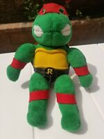 "Vintage 1989 Raphael TMNT 15"" Plush Playmates Teenage Mutant Ninja Turtles"