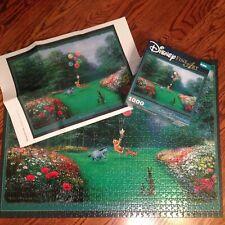 Disney Fine Art 1000 Pc Puzzle RESCUING PIGLET by Peter Ellenshaw COMPLETE