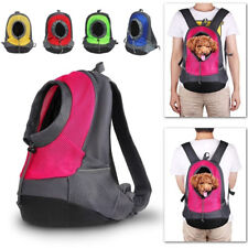 New listing Pet Carrier Dog Cat Backpack Travel Front Mesh Bag Portable Head Out Outdoor,