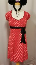 "Red and white Mini Mouse Halloween costume 28"" waist"