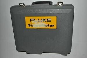 ^^ FLUKE SCOPEMETER HARD CARRYING CASE  (HB126)