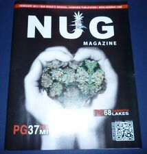 Nug Magazine San Diego's Original Mammoth Lake Feb 2011 English Monthly News