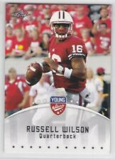 2012 Leaf Young Stars Draft Football Russell Wilson #77