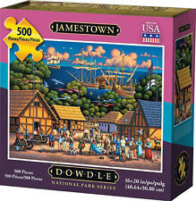 Jamestown 500 Piece 16x20 In Jigsaw Puzzle Dowdle Folk Art 00362 National Park
