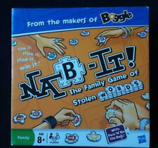 Nab-It (Word Game) - Hasbro - Board Game. The Family word game.