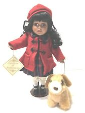Collectors Choice by Dan Dee Bisque Porcelain Doll African American  musical