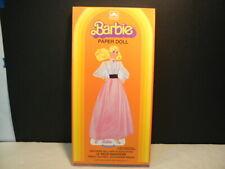 """Paper Dolls, """"Barbie Paper Doll� 1983, Boxed Set, Golden #7407 -2E, Mint"""