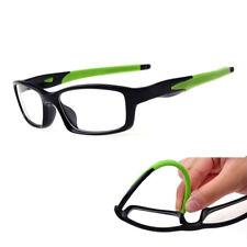 LE TR90 Titanium Eyeglass Rectangle Sport Glasses Clear Myopia Optical Frame Red