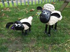Official Shaun the Sheep & Timmy the Sheep Set Primus Garden Ornaments Gift Idea