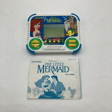 Vintage 90s The Little Mermaid Disney Handheld Electronic Game Toy Video WORKS