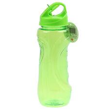 800ml Botella de agua potable Boquilla Flip Senderismo Campamento Deporte Vaso Verde Nuevo