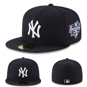 New Era New York Yankees Fitted Hat Official 2000 World Series Grey Under Brim