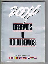 Enrique Marti Coll Debemos O No Debemos Olimpiadas 2004 Puerto Rico 1990