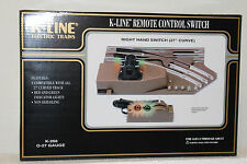 """K-LINE #K-266 """"027"""" Remote Right Hand Switch (NOS)"""