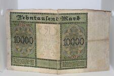 1922 Reichsbanknote 10000