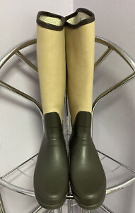 Hunter regent St. James Brown Size 7 Rain Boots