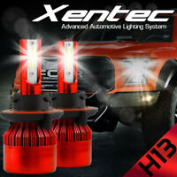 XENTEC LED HID Headlight kit H13 9008 White for 2008-2016 Ford E-350 Super Duty