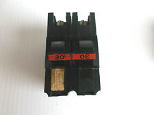 Federal Pacific Circuit Breaker, 2-Pole 30-Amp Thick Series