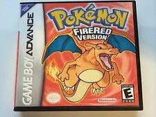 Pokemon Fire Red - GBA - Replacement Case - No Game
