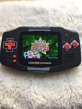 Backlit IPS NES Controller Style Gameboy Advance GBA Glass Lens Refurbished