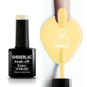 Shinerlac 80624 'HONEY DARLIN' UV/LED Soak Off Gel Nail Polish Free Postage