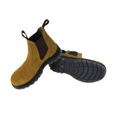 Safety Work Boot Steel Toe Elastic Footwear Men's Boots Men Shoes AUS Size 8