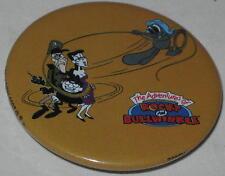 "Rocky & Bullwinkle ""Rocky Boris & Natasha"" Pin 1.75"" - Licensed 2000"
