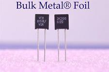Two Vishay Precision Bulk Metal Foil Resistors 2.210 Kilohm 0.5% Y0052K21000D0L