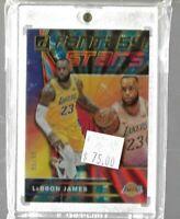 Lebron James 2019 Panini Donruss Fantasy Stars 95/99 -- Lakers