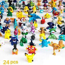 24 PCS Pokemon Miniature Set HOT Mini Action Figures Pokémon Go Toy Gift BB