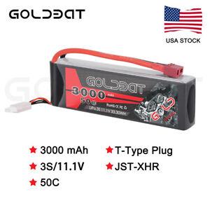 3S 3000mAh 50C 11.1V LiPo Battery Deans Plug For RC Car FPV Truck Boat Buggy