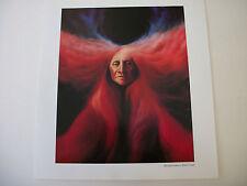 """Frank Howell """"Metamorphosis Red Cloud"""" Print Native American Indian  2 Prints"""
