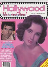 OCT 1985 HOLLYWOOD STUDIO vintage movie magazine  LIZ TAYLOR - TYRONE POWER