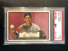 1952 Topps #342 Clem Labine Dodgers PSA 5 High Number Set Break