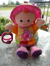 Lamaze Play & Grow My Friend Emily Doll Baby Soft Activity Learning Curve 2010