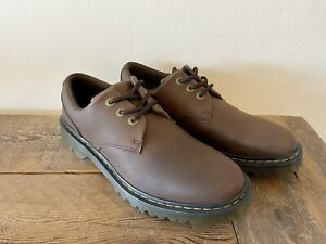 NEW! DR MARTENS KENT Men's Casual Shoes Oxford Brown Leather Size 11 Lace Up NEW