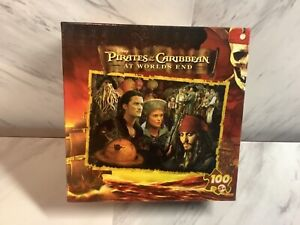 PIRATES OF THE CARIBBEAN AT WORLD'S END 100 PIECE PUZZLE MAGA BRAND