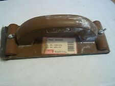 """VINTAGE WALBOARD WALPRO HAND SANDER WITH HANDLE 088-006 9"""" L 3 1/4"""" WIDE WHS-76"""