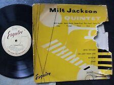 MILT JACKSON QUINTET 10 INCH LP.1954ESQUIRE LABEL INC.HORACE SILVER/KENNY CLARKE