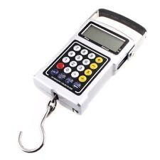 Portable 50kg 25G LCD bilancia pesapersone gancio orologio scala bagagli Y4D1 HK