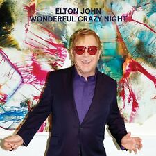 CD Elton John WonderfulL Crazy Night 2016 neuf sous cellophane