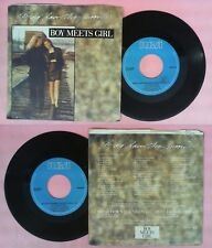 LP 45 7'' BOY MEETS GIRL Bring down the moon Restless dreamer 1989 no cd mc dvd